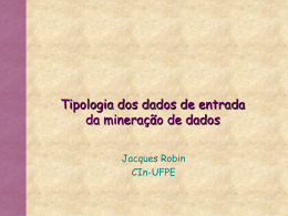 MiningInput - Centro de Informática da UFPE