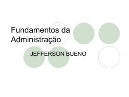 teoria geral da administração - Universidade Castelo Branco