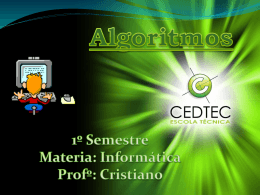Slide 1 - Professor Cristiano S. Gaigher