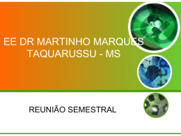 slides - visita - Dr Martinho Marques