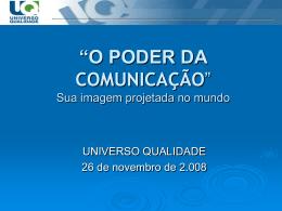 Thais Alves - Universo Qualidade