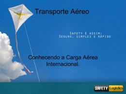 Palestra - Logística de Transporte Aéreo