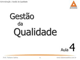 Qualidade Total - fabianosabha.com.br