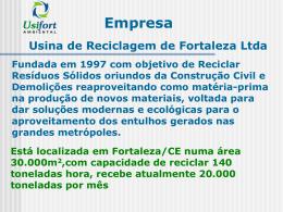 Usina de Reciclagem de Fortaleza Ltda