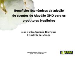 Benefícios econômicos decorrentes do aumento de produtividade a
