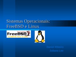 "BSD, ou ""Berkeley Software Distribution"", surgiu como - IME-USP"
