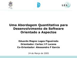 Slide 1 - (LES) da PUC-Rio