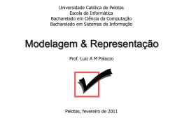 Modelagem e Representação