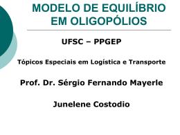 Apresentação 03 - Prof. Sérgio Mayerle