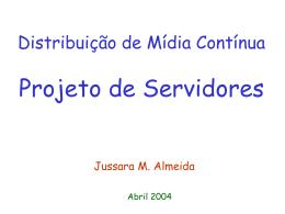 Projeto de Servidores