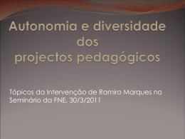 Powerpoint com a apresentação do seminário de amanhã
