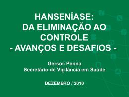 Hanseníase - Secretaria da Saúde