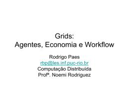 Apresentação sobre Grid e Agentes - (LES) da PUC-Rio