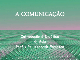 A COMUNICAÇÃO - Global Training Resources