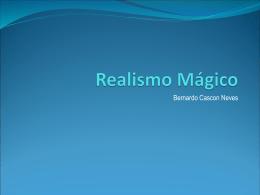 Apresentacao Realismo Magico