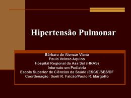 Hipertensão Pulmonar - Paulo Roberto Margotto