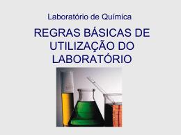 Instruções de Segurança no Laboratório
