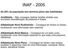 INAF - 2005