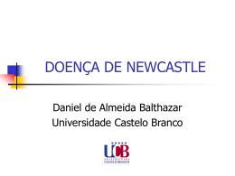DOENÇA DE NEWCASTLE - Universidade Castelo Branco