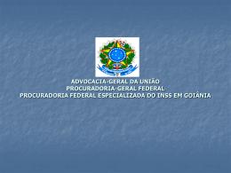 ADVOCACIA-GERAL DA UNIÃO PROCURADORIA