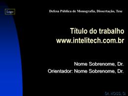 Dr. HOSS, O.