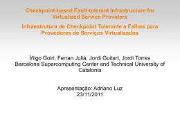 Tempo de checkpoint