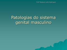 Patologias do sistema genital masculino