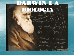 DARWIN E A BIOLOGIA