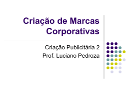 Criação de Marcas Corporativas