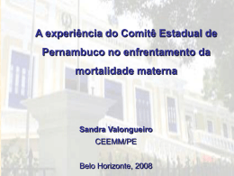 CEEMM-PE - Movimento BH pelo Parto Normal