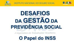 Mapa Estratégico INSS - Escola da Previdência
