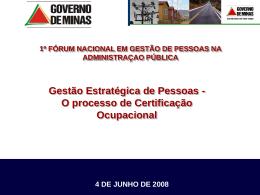 Ampliação da Profissionalização de Gestores Públicos - ABRH-DF
