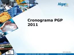 Cronograma PGP 2011