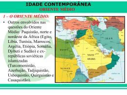 Conflito Oriente