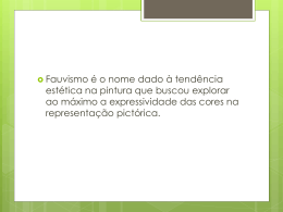 Fauvismo slide (1315328)