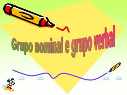 Grupo verbal