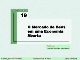 Capítulo 19: O Mercado de Bens em uma Economia Aberta