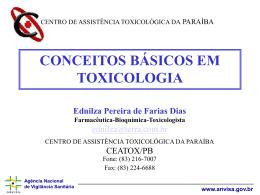 Principios basicos de toxicologia