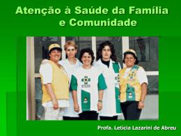 Formação do Programa de Saúde da Família
