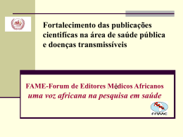 FAME: Forum for African Medical Editors
