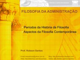 Prof. Robson Santos