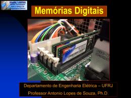 Memórias Digitais - Departamento de Engenharia Eletrica