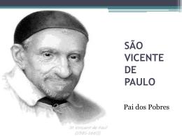Vida São Vicente de Paulo