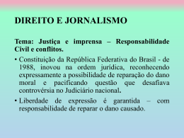 Tutela Civil no âmbito do Jornalismo