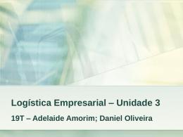 Logística Empresarial – Unidade 3