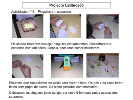 Projecto Latitude60 - Pinguins em sabonete