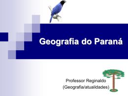 Descrição do relevo do Paraná Solos