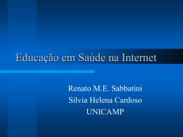 Educação em Saúde na Internet