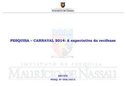 carnaval 2014 - Instituto Mauricio de Nassau