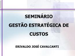 SEMINÁRIO DE CUSTOS